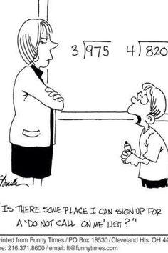 Teacher humor z funnies teacher humor, teacher jokes, teachi Teacher Humour, Teaching Humor, Teaching Quotes, Math Teacher, Teaching Math, Teacher Stuff, Teaching Tips, Math Cartoons, Math Comics