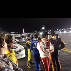 Tweet from the Daytona 500 during the red flag...courtesy of @keselowski :)