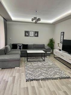Classy Living Room, Living Room Decor Cozy, Living Room Colors, Living Room Grey, Small Living Rooms, Living Room Modern, Living Room Designs, Living Room Interior, Room Wall Decor