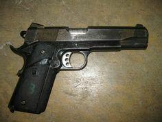 MEU SOC 1911 Quantico Virginia, Custom 1911, Zombie Weapons, 1911 Pistol, Springfield Armory, Guns And Ammo, Firearms, Hand Guns, Cool Stuff