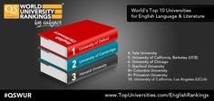 Take a look at the world's top universities for English literature and language. The full QS World University Rankings are available now at http://www.topuniversities.com/subject-rankings