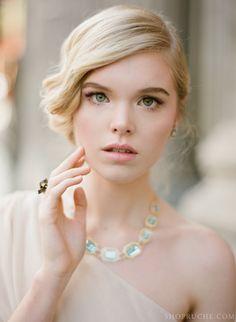 Sparkling crystal blue necklace. #shopruche #ruche