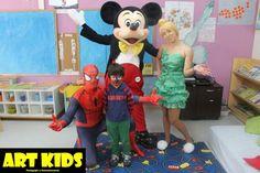 Apresentações Temáticas - Fazemos shows e eventos com personagens conhecidos do público infantil!