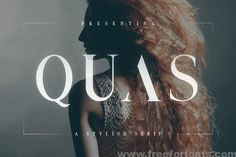 Quas Typeface Font Free Download | Free For Fonts