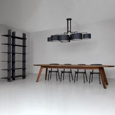 Shop SUTE NY for the Noon 7 suspension lamp by El Schmid for Zeitraum at SUITE NY as well as other contemporary light fixtures and chandeliers.