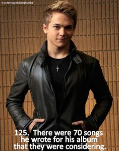 Hunter Hayes Facts! I would have loved that!!! :) I wanna hear them. all of them. he said in one CHE that a ton of them involved a mustang. :P lol