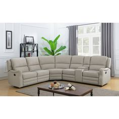 Shop Sam's Club sofas and sofa sectionals, including leather sectionals, reclining sofas, loveseats and small couches for your home. Sectional, Grey Living Room Sets, Sectional Living Room Decor, Sectional Sofa With Recliner, Recliner, Modern Furniture Living Room, Modern Couch, Couch Set, Reclining Sectional
