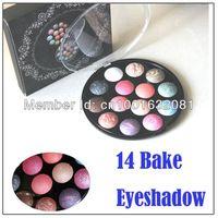 Alta calidad!! Cosméticos componen hornear eyeshadow palette 14 28 colores colores brillan sombra ojos