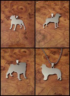 Dog breed pendants