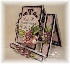 rubber stamp -  Daisy Patch by Heartfelt Creations