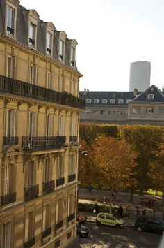 view from our apartement in latin quarter