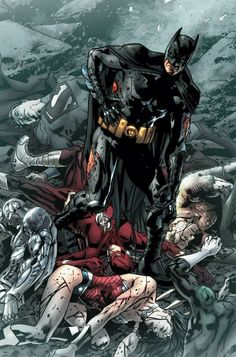 JLA #6 by Bryan Hitch *