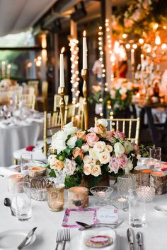 Gorgeous reception styling by She Designs Events at Gunners Barracks Wedding Reception Lighting, Wedding Reception Decorations, Table Decorations, Reception Ideas, Centerpieces, Wedding Colors, Wedding Styles, Wedding Flowers, Wedding Photos