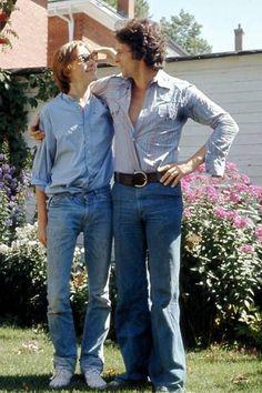 Jeremy and son, David. September, 1976.