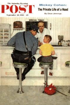 Norman Rockwell - The Saturday Evening Post covers | On the Saturday Evening Post, Norman Rockwell Made America Laugh (Have)