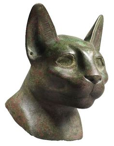 Egyptian bronze, late dynastic period, Rupert Wace Ancient Art at Sladmore Gallery