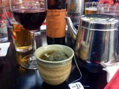 #greentea at Dave's Sushi off Main St. | downtown #Bozeman #Montana || #tea #wine #COLOReats @COLOReats