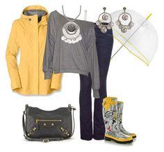 Días de Lluvia by outfits-de-moda2 on Polyvore featuring moda, LnA, The North Face, J Brand, The Sak, Balenciaga, Yochi and J by Jasper Conran