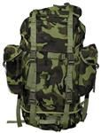 Bundeswehr Large Combat Backpack - CZECH WOODLAND CAMO Genuine European Military Surplus, Bundeswehr combat backpack at a great price!