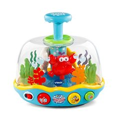 Buy VTech Lumi toupie aquarium - Édition française for CAD Spinning Top, Baby Sensory Toys, Baby Toys, Toys R Us, Cause And Effect Relationship, Vtech Baby, Sing Along Songs, Toys For 1 Year Old, Water Spout