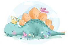 Cute rabbit floating on hot air balloon and birds hand drawn cartoon illustration Vector Baby Dinosaurs, Baby Animals, Cute Animals, Animal Drawings, Cute Drawings, Atelier D Art, Cute Dinosaur, Watercolor Effects, Cute Illustration