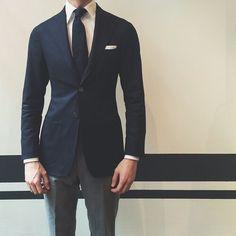 mens spring and summer fashion – Alllick Formal Dresses For Men, Men Formal, Mens Fashion Suits, Fashion Outfits, Men's Fashion, Street Casual Men, Style Costume Homme, Navy Sport Coat, Mode Costume