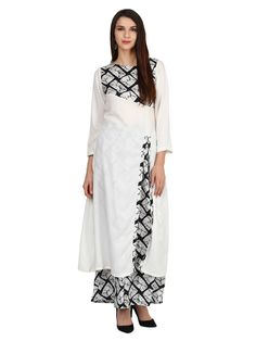 Surreal, a perfect word that will define your style with this kurta palazzo Set by Castle. Look classy and stylish in this kurta palazzo set. Make your style signature with this soft and soothing Rayon fabric kurta palazzo set.
