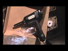 Pallet Nail Remover Air Locker AP700 review and use Denailer - YouTube