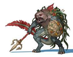 ArtStation - Daigon Warrior, Rafis Khuzin