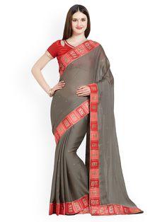 Grey Saree, Indian Actresses, Sari, Victorian, Dresses, Fashion, Saree, Vestidos, Moda