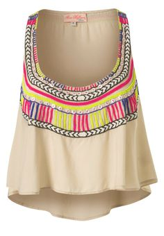 Mara Hoffman - BEADED HALF TOP
