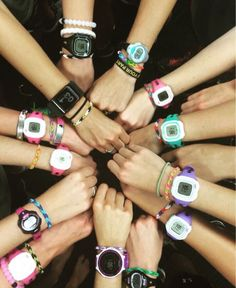 Running watches, Lokai bracelets, and our Chaco bracelets