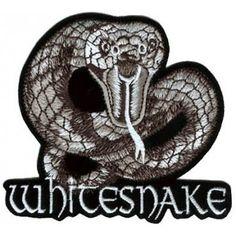 Whitesnake - Snake hihamerkki Band Jacket, Snake, Fan, A Snake, Hand Fan, Fans, Snakes