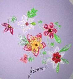 Quilling Flowers 5 by jchau on DeviantArt