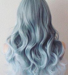 Weekend hair #hair#hairdresser#sydneyhairdresser#bluehair#waves#love#inspo#stylist