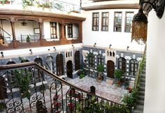 Bait Al Wali: a Damascene house of the 18th century located in the Old City of Damascus. The house was renovated in 2009 into a five-star hotel.
