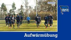 Aufwärmübung - Hertha BSC - Bundesliga - Berlin 2015 #hahohe