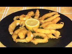 Como hacer pasta Orly para rebozar calamares - YouTube  ༺✿Teresa Restegui http://www.pinterest.com/teretegui/✿༻