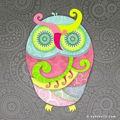 owl by Sonia Gaud Tiwari