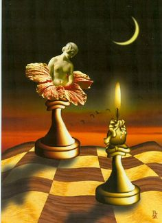 Chess art<3 Beautiful<3