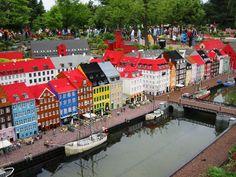 Legoland, Billand, Denmark where the toys originate. Looks like Nohavn in Copenhagen