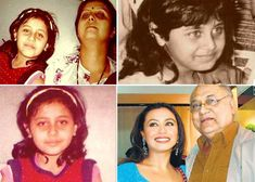 Rani Mukerji childhood photos, Bollywood Celebs, Childhood Stars, Unseen childhood pictures, Rare Pics Of Bollywood Celebrities