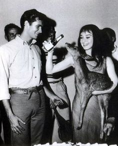 Anthony Perkins ve Audrey Hepburn