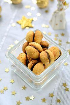 Baci di dama – olasz aprósütemény recept - Kifőztük, online gasztromagazin Cookie Jars, Confectionery, Biscuits, Cereal, Food And Drink, Low Carb, Gluten Free, Sweets, Cookies