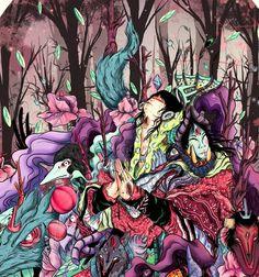 Art by Nijah Lefevre (piñatha) Old Friends, Spiderman, Fantasy, Superhero, Fictional Characters, Art, Spider Man, Art Background, Imagination