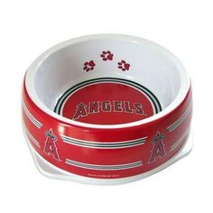 Los Angeles Angels Plastic Dog Bowl