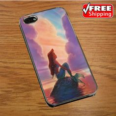 Ariel The Little Mermaid On Tiffany Blue IPHONE 4 | 4S COVER CASE