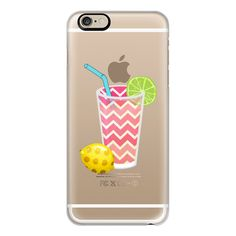 iPhone 6 Plus/6/5/5s/5c Case - Summer Fruity Lemons and Limes Lemonade... ($40) ❤ liked on Polyvore featuring accessories, tech accessories, phone cases, phone, cases, iphone, iphone cases, iphone cover case, slim iphone case and iphone case