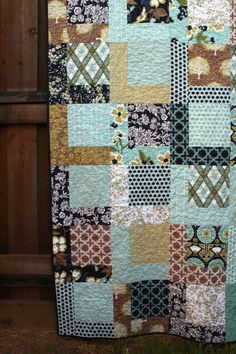 Quilt--this reminds me of my parents.  They put together quilts  during their later days.  They both sewed them.  They had fun creating nice designs or patterns.  And they even sold many of their creations.  Good Memories !