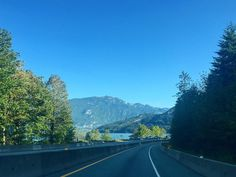 I love road trips especially the Sea-to-sky one from Vancouver. 134km of beautiful scenery.